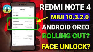 Redmi note 4 Miui 10.3.2.0 new update with Android Oreo | New features | Miui 10.3.1.0 for note 4