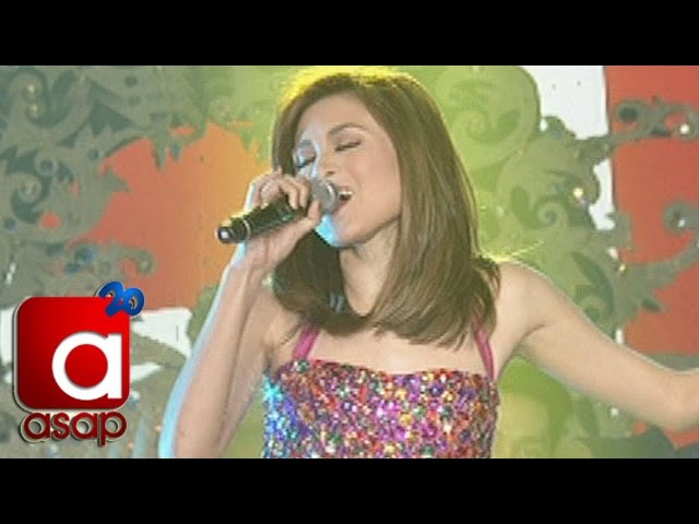 "ASAP: Toni Gonzaga sings ""Hold My Hand"" on ASAP"