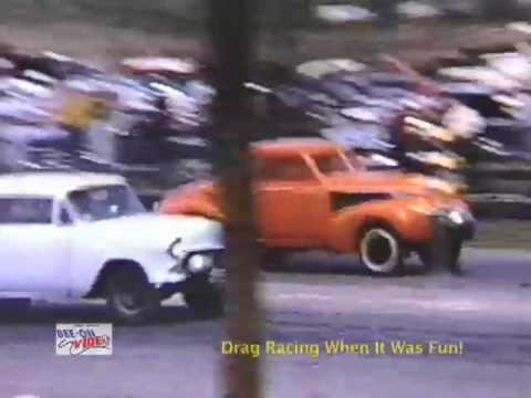 DRAG RACING WHEN IT WAS FUN! Video