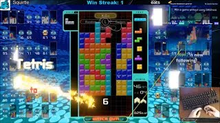 Tetris 99 - Epic Win with 367 Total Lines