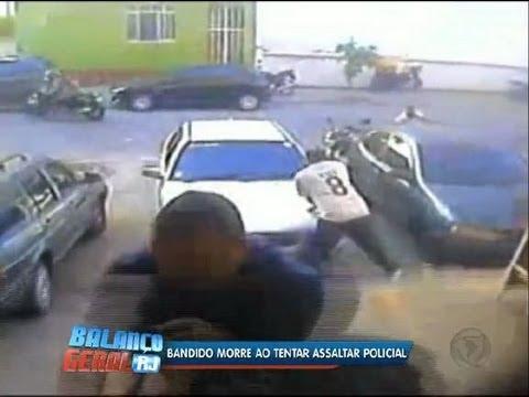 Bandido morre ao tentar assaltar PM em São Cristóvão (RJ)