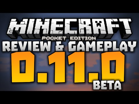 ALL NEW FEATURES in 0.11.0 - Minecraft Pocket Edition 0.11.0 Beta Full Review & Gameplay