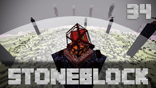 StoneBlock Modpack Supporter Server Ep. 34 The Fastest Chaos Guardian/Gaia Guardian Fight Ever