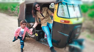 छोटू और रिक्शा वाली | CHOTU AUR RIKSHA WALI | Khandesh Hindi Comedy | Chotu Comedy Video