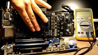 GTX 1070 broken, no video diagnostic of graphic card hard repair PART 1