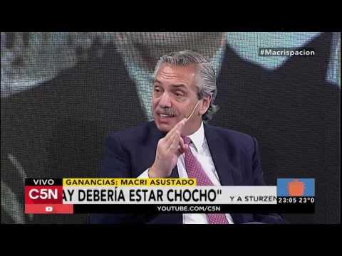 Alberto F, lapidario con Macri: