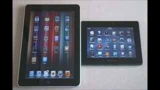 Ipad 1 vs Playbook