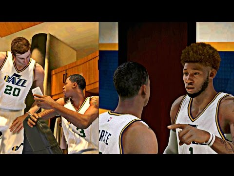 NBA 2K15 MyCAREER - Freddy Going Off On His Teammates For Searching Through His Phone !