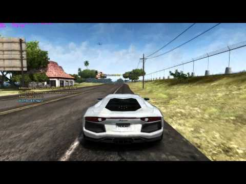 Test Drive Unlimited 2 - Lamborghini Aventador LP700-4 Free Ride
