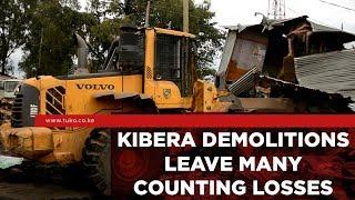 Government Demolishes Kiosks in Kibera Following Reported Rape at Moi Girls School | Tuko TV