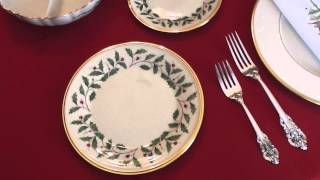 Southern Staples: Lenox Holiday China Pattern