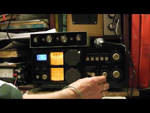Tuning around on a Kenwood QR-666.