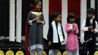 Shikor Kids performing Kobita at Ekushe Program at ASU 2013