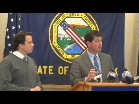 Poloncarz Press Conference to Refute Homeland Security Audit of October 2006 Disaster Funds