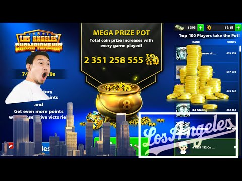 8 Ball Pool - Los Angeles Championship - How to get Los Angeles ring