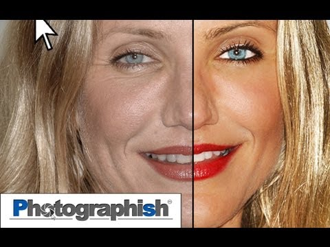BEAUTY RETOUCH / MAKEOVER -Photoshop Tutorial by Philipp Hebold-
