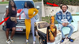 Spice Buy Sister New Vehicle For Her Birthday | Popcaan Shock In Ghana | Intence Face Tattoo