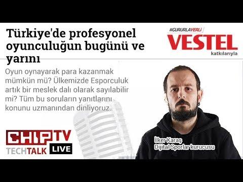 Türkiye'de profesyonel oyunculuğun bugünü ve yarını! - CHIP Tech Talk