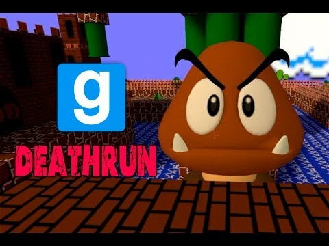 Весёлый мир Марио (Garry's Mod Deathrun)