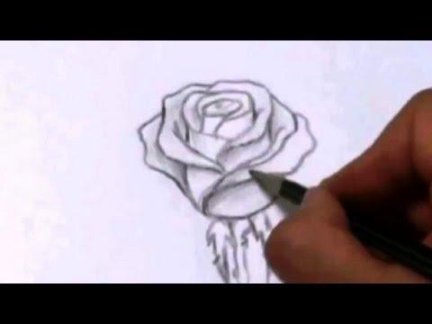 Видео как нарисовать красивый букет