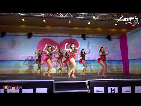 DNA LADIES SHOW  LEBANON LATIN FESTIVAL 2018
