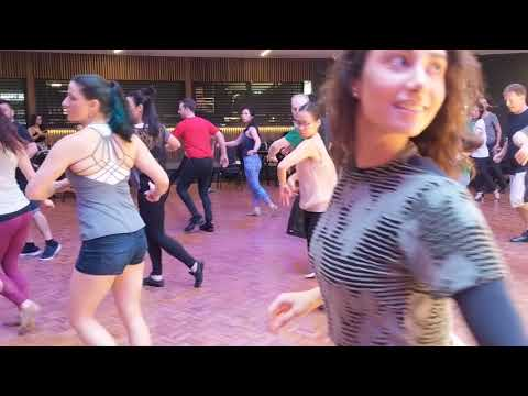 SSZF2018 with Layssa & Arthur in workshop warmup session ~ Zouk Soul