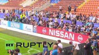 Italy: See Ronaldo, Bale et al train ahead of Champions League final
