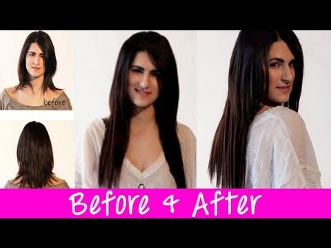 Before And After Hair Extensions 2012 Portfolio   Instant Beauty ♡