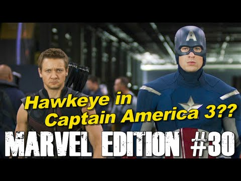 Hawkeye to appear in Captain America 3?? - [MARVEL EDITION #30]