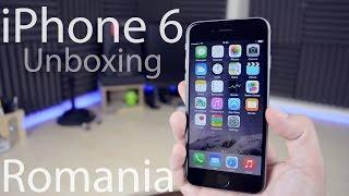 Apple iPhone 6 Unboxing - Despachetare Lb. Romana