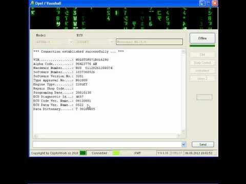 CryptoWork Opel Video M1 5 5