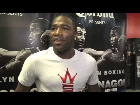 how it began adrien broner and malignaggi get into it - EsNews Boxing