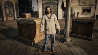 "Jesus as ""Stoner Hippy"" Grand Theft Auto 5 (Game)"