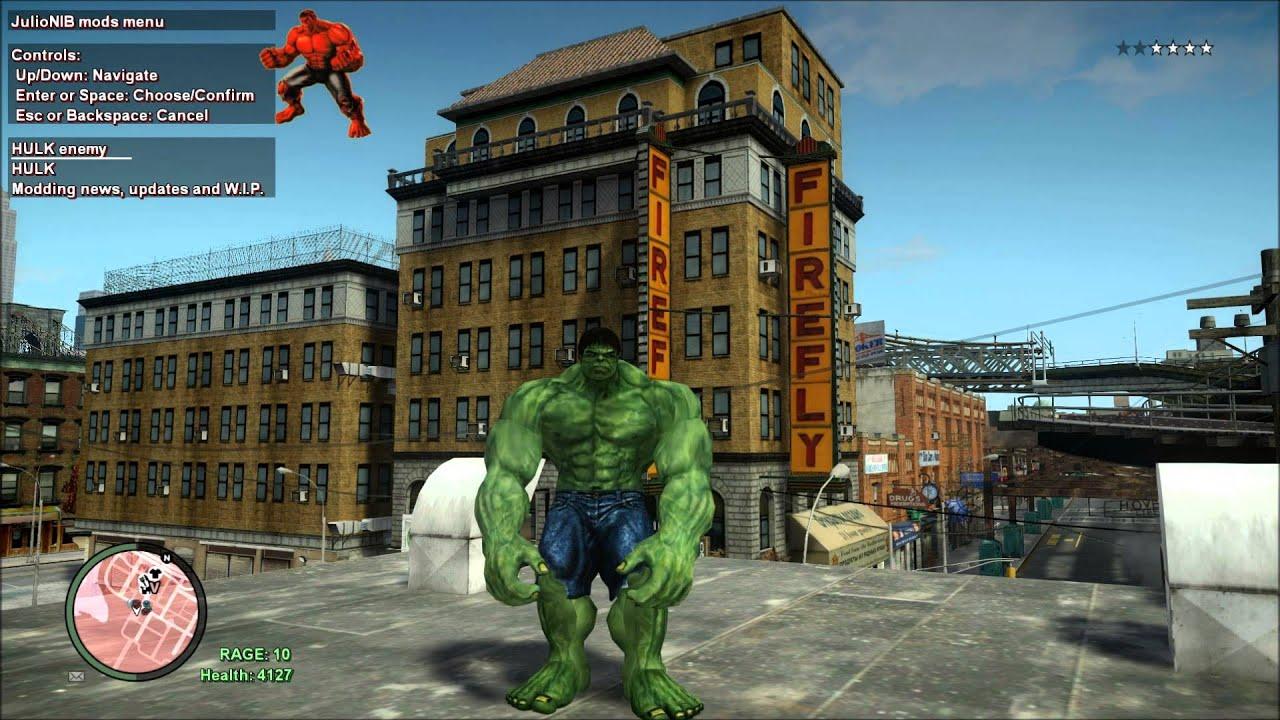 Red Hulk Green Hulk Grey Hulk Green Hulk vs Red Hulk Gta iv