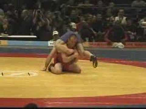 Cael Sanderson v. Revaz Mindorashvili 2003 World Championshi