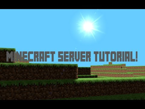 How to make minecraft server - Very easy! [2014] [NO HAMACHI] [1.8]