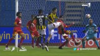 هدف الاتحاد الثالث ضد القادسية (أحمد عكايشي) في الجولة 10 من دوري جميل