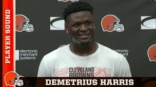 Demetrius Harris Compares Baker & Mahomes | Browns Player Sound