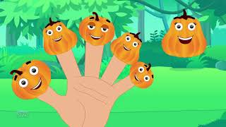 Pumpkin Finger Family | Nursery Rhymes | Baby Songs For Children | Kids Rhyme