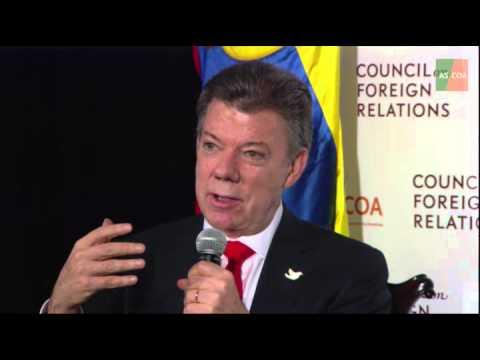 A Conversation With Juan Manuel Santos