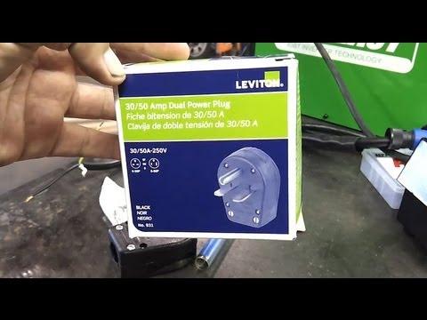 installing   volt plug   welder everlast powertig  ext youtube