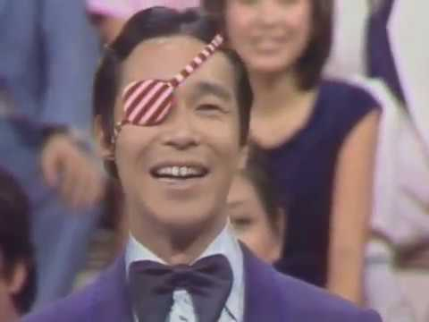 デビュー直後のタモリ。デタラメ中国語講座 昭和51年(1976)  チェルシア・チャン陳秋霞