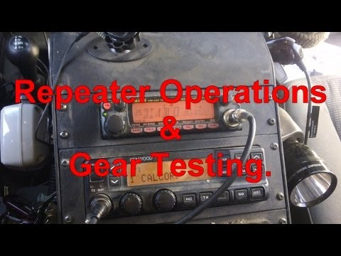 Mobile Radio Operation, Gear & Range Check
