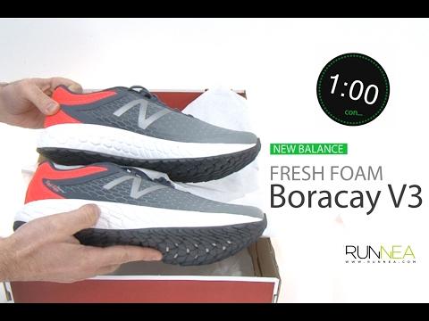 New Balance Fresh Foam Boracay v3 ?  unboxing y review en 1 minuto
