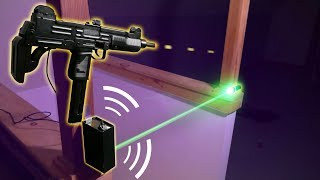 How to Build an Airsoft LASER Trip-wire! - INSANE ALARM SYSTEM