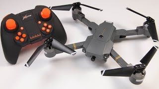 ATTOP XT-1 Cheap Folding Mavic Clone WiFi FPV Transmitter or App Control awesome smooth flyer