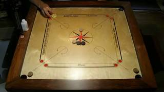 Carrom techniques with double dues