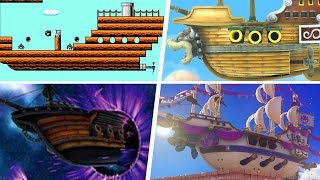 Evolution of Airships in Super Mario Games (1988 - 2019)