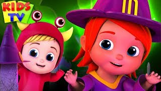 Ha Ha its Halloween Night | Junior Squad Cartoons | Halloween Music for Kids