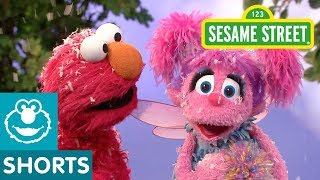 Sesame Street Elmo And Abby Cool Off